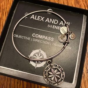 Alex and Ani Compass Bangle